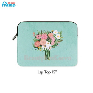 "ALL NEW FRAME Rose iPad Pouch 1ea [Lap Top 15""],ALL NEW FRAM"